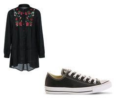 """Untitled #115"" by cbr-style on Polyvore featuring Converse"
