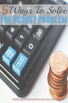 5 Ways To Solve The Budget Problem - If you are having major issues with your budget I got 5 Ways To Solve The Budget Problem. These 5 ways will help get pass your budget problem.