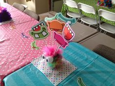 "Photo 26 of 50: Cute Monsters / Birthday ""Ellie's 1st Birthday Monster Bash"" 