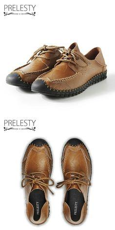 >> купить здесь << Prelesty Люксовый Бренд Мужчины Обувь Из Натуральной Кожи Хорошего Качества для Мужчин, Обувь для Вождения Мягкие Мужчины Мокасины Удобные Ручной Шить