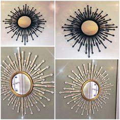 Amazing DIY - Using Dollar Tree Mirror and Foldable Fans