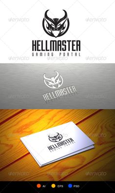 Hellmaster Logo Template  #GraphicRiver         devil game portal logo, great for community, team,  include:  1 psd file with and without text   png transparant graphic only(without text)  ai and eps file, resizeable and editable text 	 FONT USED:  GOTHAM NIGHT:  .dafont /gotham-nights.font                      Created: 5 December 13                    Graphics Files Included:   Photoshop PSD #Transparent PNG #Vector EPS #AI Illustrator                   Layered:   No…