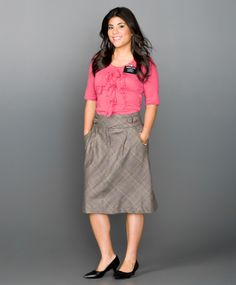 Cute skirt, and love the shirt style and (of course) the color 03-blouse-19-a-lg (670×810)