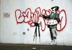 Banksy - Street Artist, London, 2007