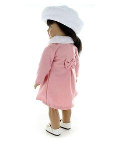Pink Butterfly Closet Jacqueline Kennedy Doll Dress | zulily