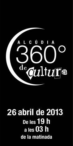 Cartel de la 2ª edición de Alcudia 360º de Cultura