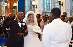 """Not sure if he is saying hold up or I give this bride away"" #weddingphotographer #groom #martincrosswinds #lovelasts #dmv #marriedlife #bride #brides #groom #dcweddingphotographer #marylandweddingphotographer #virginiaweddingphotographer #photooftheday #dailypix #photographer #weddingshots #blacklove #photooftheday #weddingreception #love #details #weddingsonpoint #munaluchibride #weddingday #weddingmagazine #weddingdetails #weddingreception #garter #weddingsonpoint #cremedelabride 9na..."
