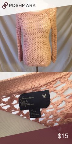 American Eagle Knit Top Perfect for a concert or any night! Like new. No trades, please. 1311087 American Eagle Outfitters Tops
