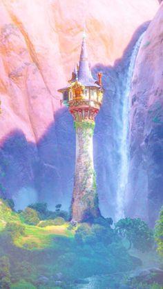 The Tower of Rapunzel Apple iPhone 7 Plus Case Cover Cartoon Wallpaper, Disney Phone Wallpaper, Wallpaper Iphone Cute, Disney Rapunzel, Rapunzel Castle, Tangled Rapunzel, Tangled Tower, Disney Princesses, Disney Animation