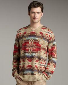 35690ec5f5e Polo Ralph Lauren - Multicolor Southwest Sweater for Men - Lyst