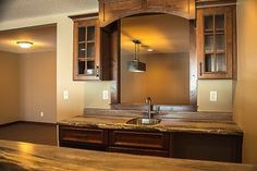 A custom kitchen is perfect for entertaining guests. C&E Wurzer Builders can design the best kitchen-- just for you!