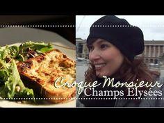 Receita do CROQUE MONSIEUR e passeio pela Champs-Élysées