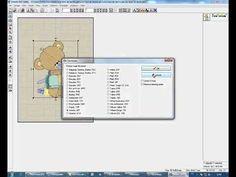 Video aula prática de como baixar, instalar e utilizar o Embird 2003.