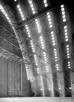 aircraft hangar . eugene freyssinet . orly . 1921-23