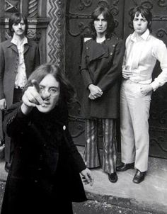 Richard Starkey, George Harrison, Paul McCartney, and John Lennon