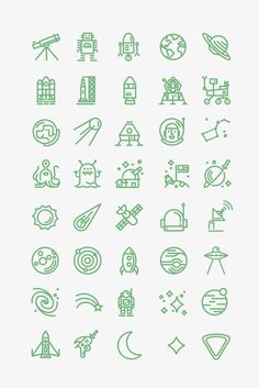Any of these would make a cool stick and poke tattoo for a space fan. Mini Tattoos, Trendy Tattoos, Body Art Tattoos, Small Tattoos, Henna Tattoos, Tattoo Art, Tatoos, Stick N Poke Tattoo, Stick And Poke