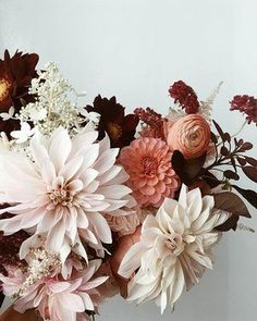 The perfect fall floral arrangement.