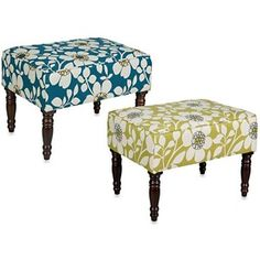 This Brighton home small bench ottoman from angelo:HOME is a comfortable and stylish addition to any home. Perfect for use as additional seating or for use as on ottoman, this piece features dark walnut spindle wooden legs and a solid hardwood frame. Bed Bench, Ottoman Bench, Ottoman Inspiration, Home Decor Items, Diy Home Decor, Furniture Decor, Living Room Furniture, Brighton Houses, Small Bench