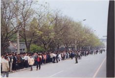 On April 25, 1999, a peaceful appeal was held by Falun Dafa practitioners on Fuyou Street in Beijing