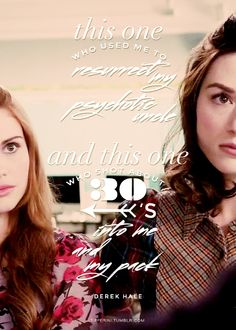 These two?  ||   Allison Argent, Lydia Martin, Derek Hale - Teen Wolf