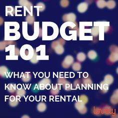 One of the main challenges of living on your own is the cost - it's expensive to rent an apartment! Tip #1 for determining your rent budget: Real estate experts recommend that renters pay no more than 30% of their annual income. Check out more tips on how to create your rent budget! #rent #budget #tips