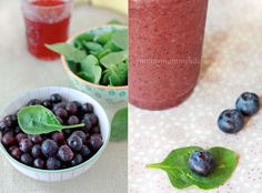 Immune Boosting Berry Spinach Smoothie | Yummy Mummy Kitchen | A Vibrant Vegetarian Blog