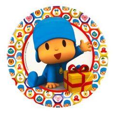 Pocoyo Birthday Party - colorful fun for preschool children!