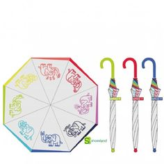Con un paraguas transparente como este de Kukuxumusu verás la carita de tus niños mientras disfrutan de la lluvia.  Con elefantes divertidos y a prueba de viento!!