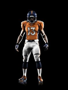 New Broncos Jerseys for 2012 by Nike.  Look close...there are some differences...