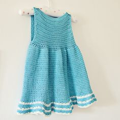 Crochet pattern - A-line dress by mon petit violon