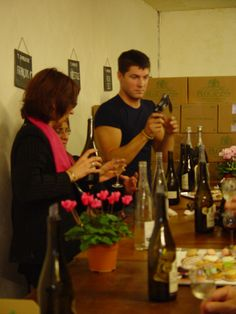 Wine & dessert tasting at Plou & Gils in the Loire Valley, France