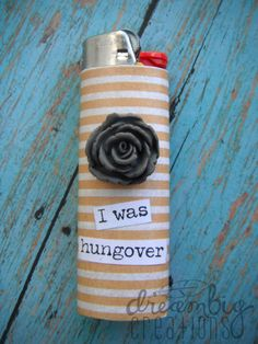 Yellow floral lighter, How freakin cute!?