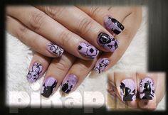 Alice in the wonderland, purple hand draw gel nail #nails #nail #fashion #style #TagsForLikes #cute #beauty #beautiful #instagood #pretty #girl #girls #stylish #sparkles #styles #gliter #nailart #art #opi #photooftheday #essie #unhas #preto #branco #rosa #love #shiny #polish #nailpolish #pikapika_nails