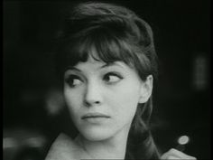 I actually don't know this actress;  I just like her hair.  Anna Karina