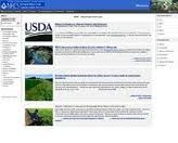 The home page for the United States Department of Agriculture PLANTS Database Planta Vascular, Agriculture, United States, Plants