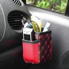 Delikátní Car Pocket Skladování Organizátor taška z výstupního autoklimatizace mobilní telefon bag vozík taška Hot prodej -V zavazadel tašky z Dům a zahrada o Aliexpress.com | Alibaba Group