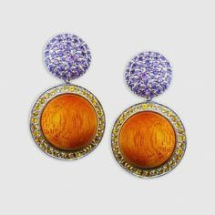 Whirl is an adorable mixed media collection from Zira Jewels, these cute amethyst, citrine and mahogany earrings are just perfect for some everyday glam #jewellery #earrings #fashion