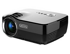 Wewdigi Portable HD Home Cinema Pico Projector Support Full HD Mini Pro Portable LED Projector For Home Theater Movie Video Games *** For more information, visit image link. Pico Projector, Movie Projector, Portable Projector, Projectors For Sale, Home Theater Projectors, Usb, Projector Reviews, Android Wifi, Carte Sd