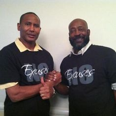 "#Dolphins and #Bama Teammate Tony Nathan joined the ""No Excuses"" Movement...Are you in?"