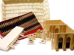 The Israelites build a tabernacle for worshiping God. Set includes wood tabernacle, overlays, canvas fence, 7 artifacts/basket and wicker tray. Sunday School Lessons, Sunday School Crafts, Best Study Bible, Tent Craft, Sunday School Coloring Pages, Godly Play, The Tabernacle, Bible Lessons For Kids, Worship God