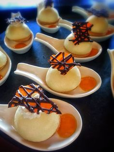 Cheesecake, Chocolate Delight, Orange Essence