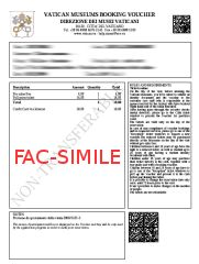 Fac-Simile Voucher