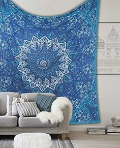 Blessing Psychedelic Star Queen Tapestry