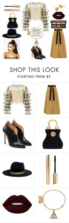 """""""Rare Vintage"""" by rashaewhite on Polyvore featuring HUISHAN ZHANG, Temperley London, Chloe Gosselin, Edouard Rambaud, Janessa Leone, Lime Crime, Alex and Ani, Lord & Taylor, modern and vintage"""