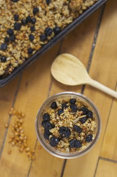 "Prairie Lentil Granola | Smart Nutrition | Entry in the ""Baked Goods"" category"