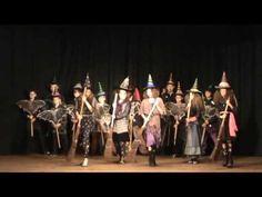 09 Škola čar a kouzel, inscenace 5 třída - YouTube