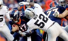 December 13, 2015 in Denver - Oakland Raiders 15 Denver Donkeys 12. Khalil Mack Sack Attack destroys Osweiler's savior image!  The Donkeys have not scored an offensive touchdown on the Raiders this 2015 season!!