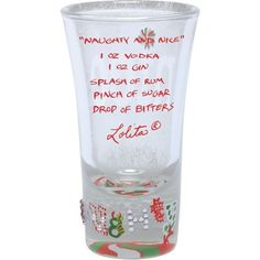Lolita Hand Painted Shooter Glass Naughty and Nice *** You can get additional details at the image link.