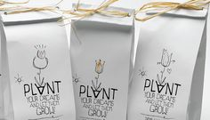 PLANT YOUR DREAMS / SELF PROMOTION PACKAGING 2011 by Sophia Georgopoulou, via Behance