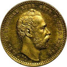 Sweden Ducat KM# 709 1860 - 1868
